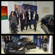 GlitzPR's Candace Polk at Maserati of Chicago's Spring Gala at Bentley Gold Coast