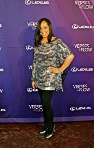 Candace Polk at Lexus' Verses & Flow event in Chicago